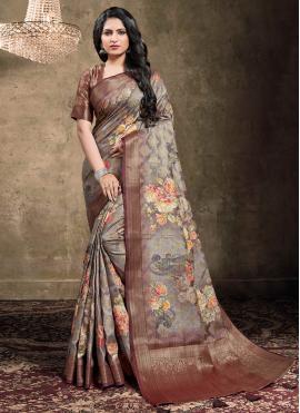 Heavenly Contemporary Saree For Ceremonial