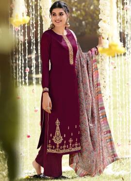 Heavenly Pashmina Festival Designer Palazzo Salwar Suit