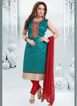 Honourable Silk Festival Readymade Suit