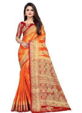 Impeccable Weaving Classic Saree