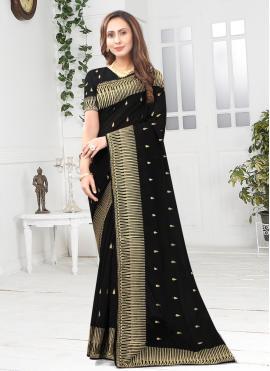 Imperial Embroidered Ceremonial Designer Saree