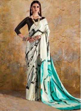 Imposing Multi Colour Printed Saree