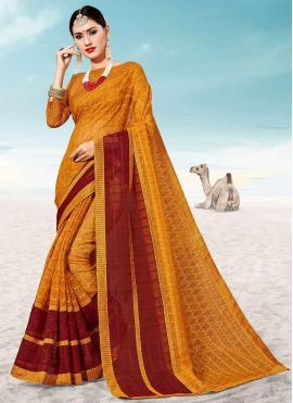 Imposing Weaving Festival Classic Saree