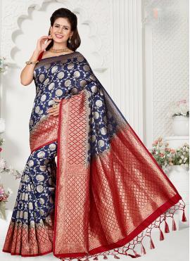Impressive Zari Classic Designer Saree