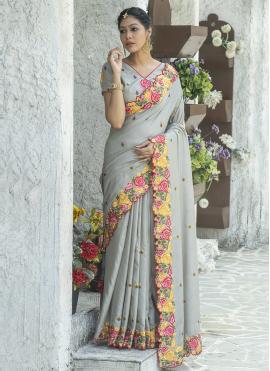 Innovative Silk Festival Traditional Saree