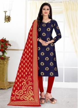 Invigorating Churidar Designer Suit For Festival