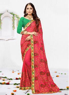 Invigorating Silk Trendy Saree