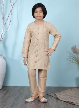Irresistible Handloom silk Jacquard Work Kurta Pyjama