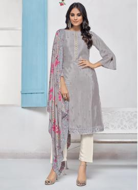 Jazzy Chinon Salwar Suit