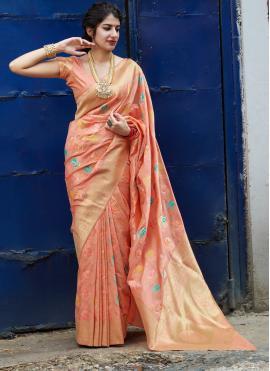 Jazzy Weaving Reception Classic Saree