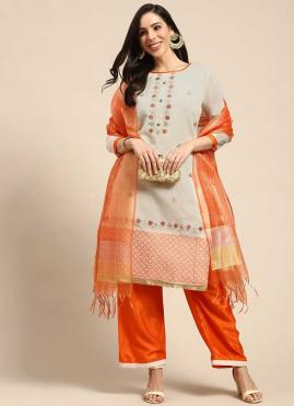 Lavish Fancy Silk Designer Palazzo Salwar Kameez