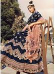 Lively Thread Banarasi Silk Lehenga Choli - 1