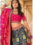 Lovable Banarasi Silk Zari Bollywood Lehenga Choli - 1