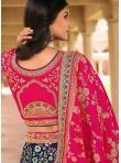 Lovable Banarasi Silk Zari Bollywood Lehenga Choli - 2