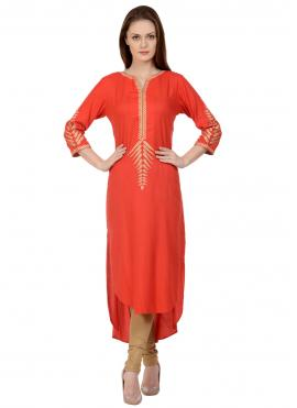 Lovable Rayon Party Party Wear Kurti