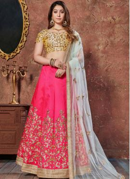 Magnificent Art Silk Lace Lehenga Choli
