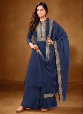 Magnificent Embroidered Cotton Lawn Designer Pakistani Suit