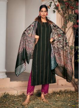 Magnificent Rayon Festival Pant Style Suit
