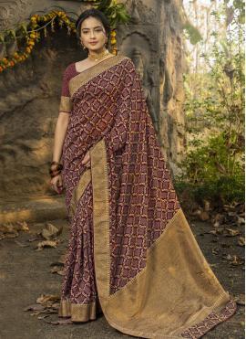 Magnificent Traditional Designer Saree For Festival