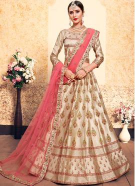 Majestic Satin Wedding Trendy Lehenga Choli