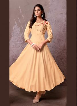 Mesmeric Embroidered Party Party Wear Kurti