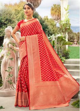 Miraculous Silk Wedding Designer Traditional Saree