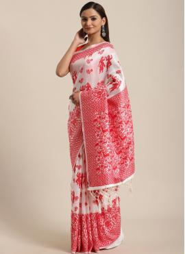 Modern Bhagalpuri Silk Traditional Saree