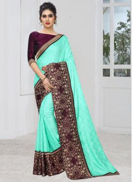 Modern Embroidered Classic Saree