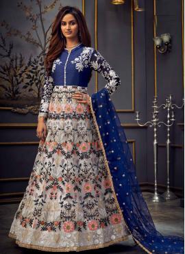 Modernistic Net Ceremonial Anarkali Salwar Suit