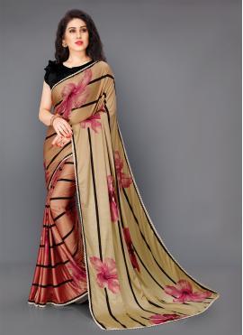 Modest Multi Colour Party Classic Saree