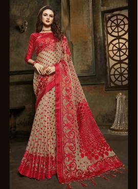 Monumental Fancy Sangeet Designer Saree