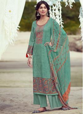 Monumental Pashmina Festival Designer Palazzo Salwar Suit