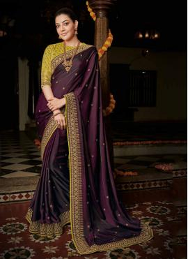 Monumental Silk Party Bollywood Saree