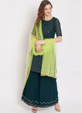 Morpeach  Fancy Party Designer Pakistani Suit