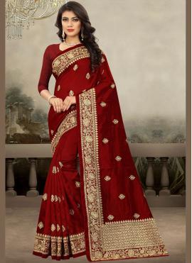 Mystic Art Silk Trendy Saree