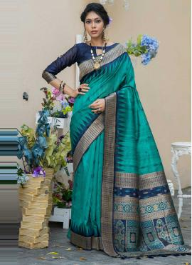 Mystic Rama Festival Designer Traditional Saree