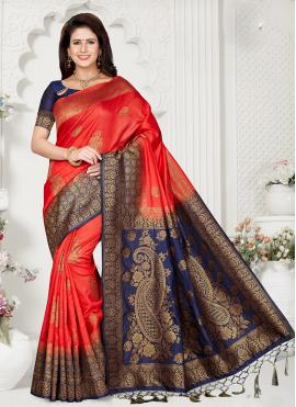 Mystical Zari Reception Classic Designer Saree
