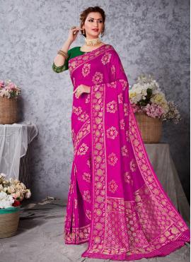 Nice Art Silk Festival Traditional Designer Saree