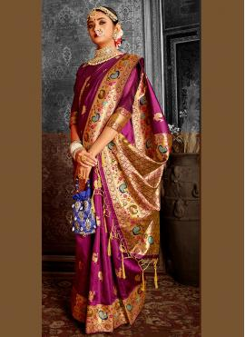Noble Weaving Traditional Saree
