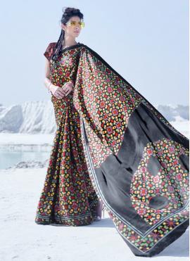 Observable Multi Colour Casual Saree
