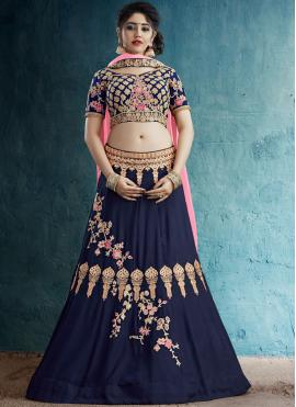 Opulent Embroidered Sangeet Designer Lehenga Choli