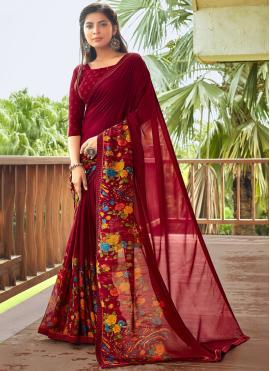 Orphic Multi Colour Fancy Fabric Saree