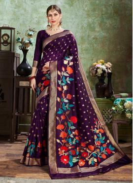 Orphic Silk Weaving Designer Traditional Saree