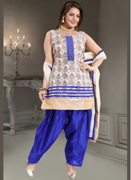 Outstanding Banglori Silk Festival Readymade Suit