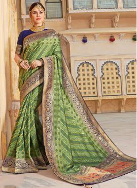 Paramount Silk Trendy Saree