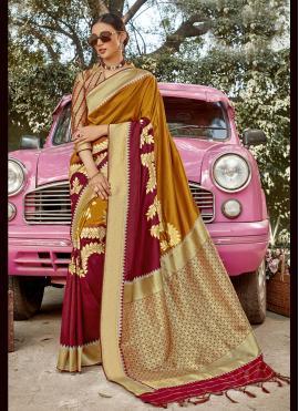 Peppy Banarasi Silk Traditional Designer Saree