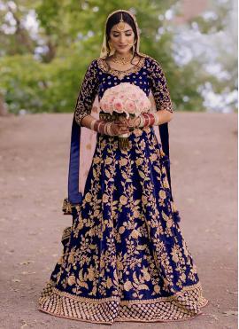 Phenomenal Floor Length Anarkali Suit For Sangeet