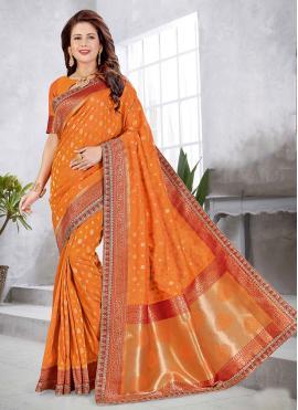 Picturesque Weaving Art Silk Traditional Designer Saree