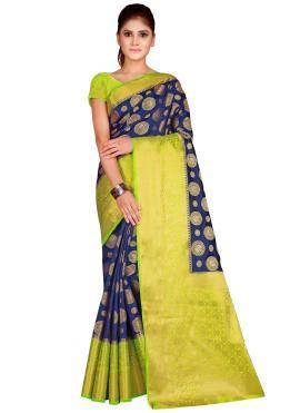 Picturesque Weaving Classic Saree