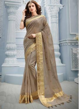 Picturesque Zari Contemporary Saree